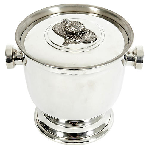 English Sheffield Barware / Ice Bucket