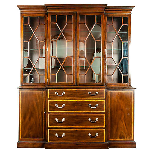 19th Century Chippendale Style Mahogany