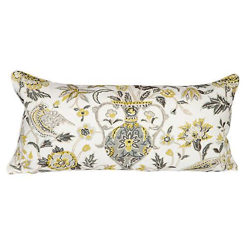 Schumacher Camberwell Vase Lumbar Pillow