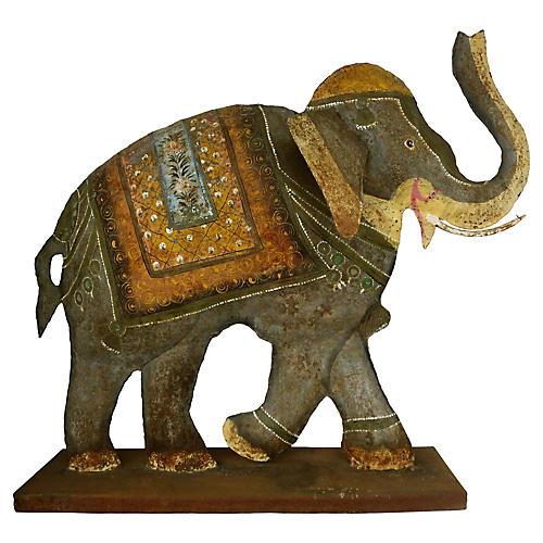 Moroccan Elephant Sculpture