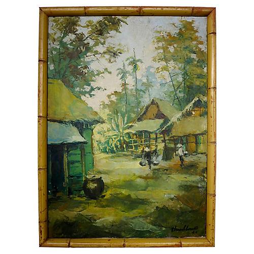 Bamboo Village, 1965