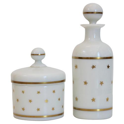 Portieux Vallerysthal Vanity Set, S/2