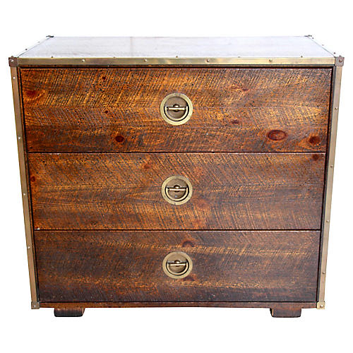 Bassett Campaign-Style Chest of Drawers