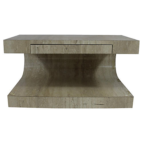 Stone-Style Coffee Table