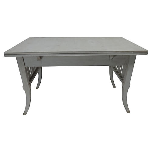 Antique Swedish Extension Table