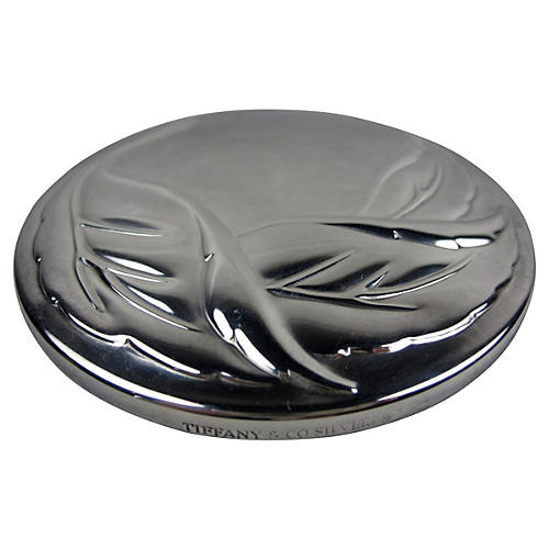 Tiffany & Co. Silver Hand Mirror