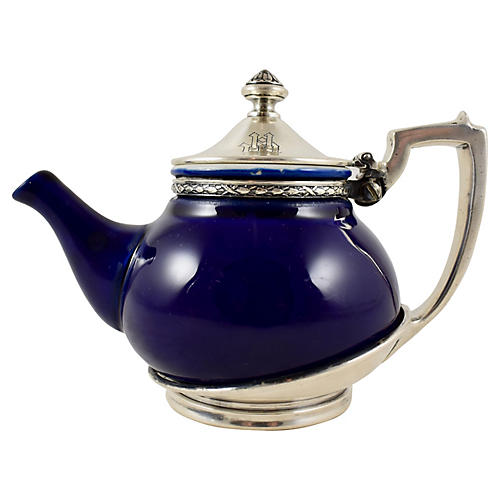 1920s Hotel Mayfair Art Deco Teapot