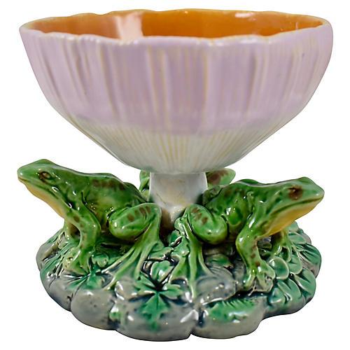 Minton Frog & Mushroom Vide-Poche Bowl