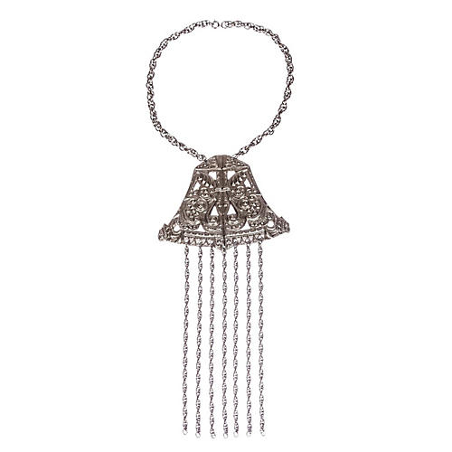 Etruscan-Inspired Tassel Necklace