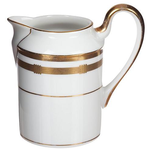 Dior Porcelain and Gold Leaf Creamer