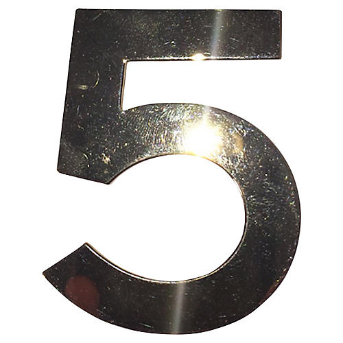Chanel Number 5 Signature Pin