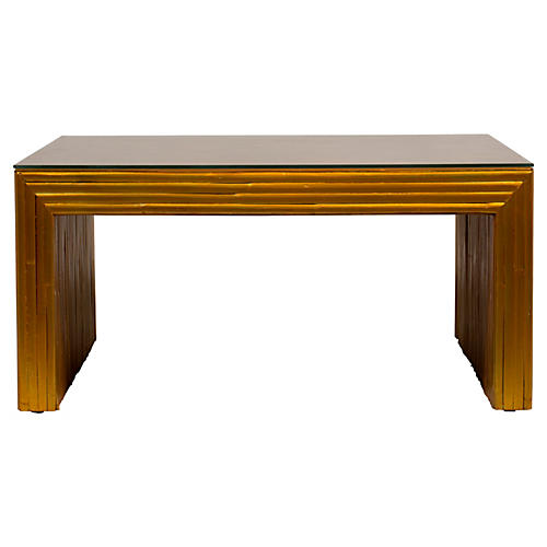 Bamboo Gilt Coffee Table