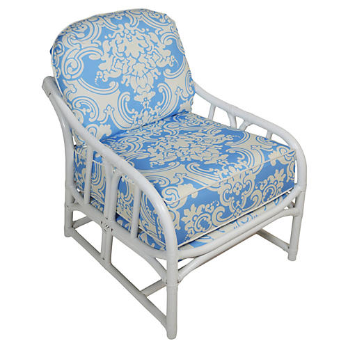 Ficks Reed Scalamandré Lounger
