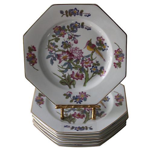 1920s Rosenthal Bird Plates, S/7