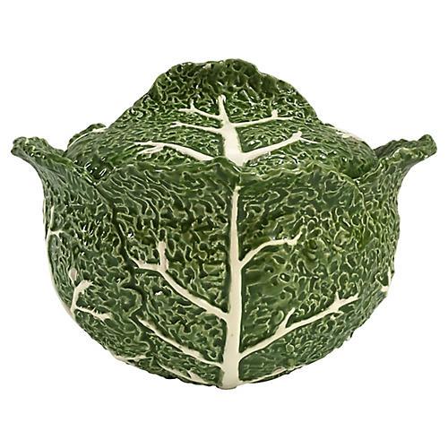 Majolica Cabbage Tureen