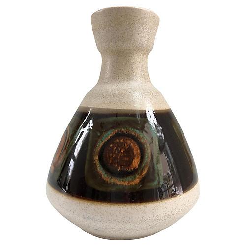 Mid-Century Modern German Pottery Vase