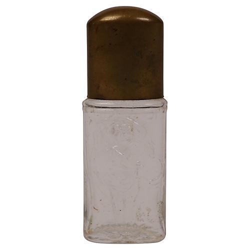 1920s Perfume Bottle w/ Roman Maidens