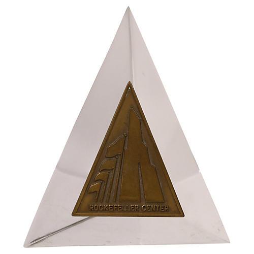 Rockefeller Center Bronze Paperweight