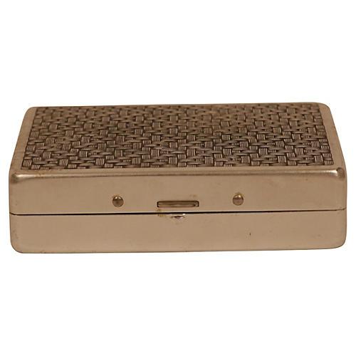 Art Deco Aluminum Box