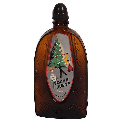 Noche Buena Art Deco Perfume Bottle