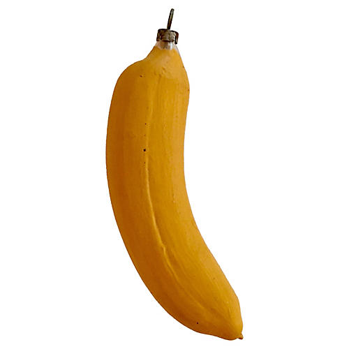 Antique Banana Ornament