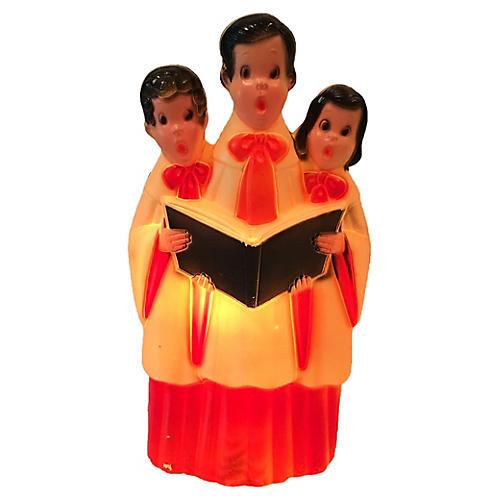 Light Up Blow Mold Choir Children