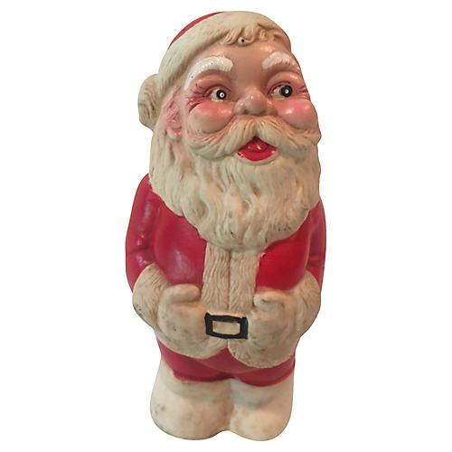 Rubber Santa Toy