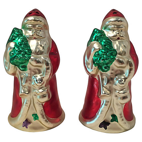Father Christmas Salt and Pepper Shakers