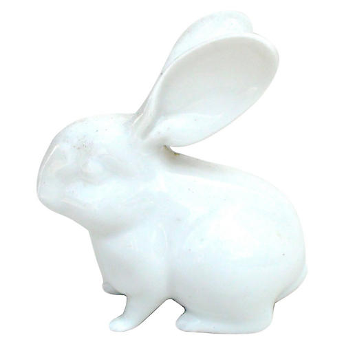 Blanc de Chine Porcelain Rabbit