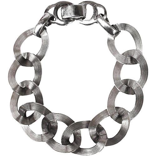 Looped Bracelet, Signed Sperry