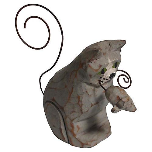 Cat & Mouse Figure
