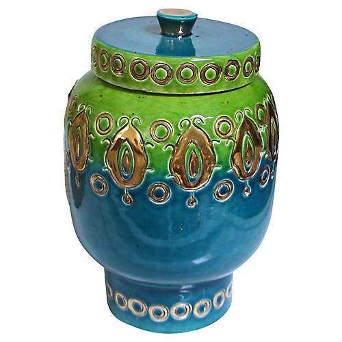 Bitossi Italian Jar by Aldo Londi