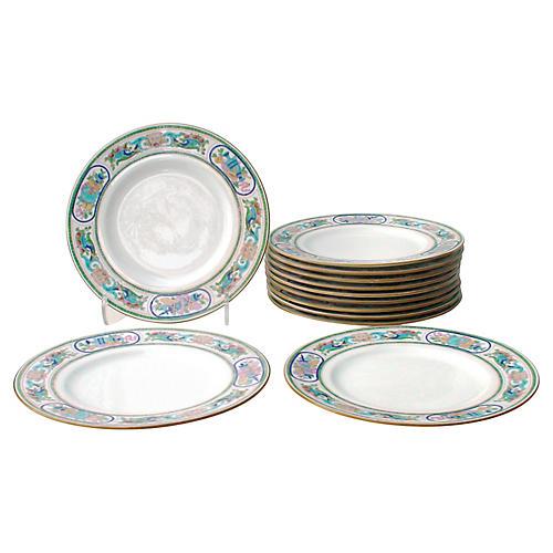 Mintons Dinner Plates, S/12