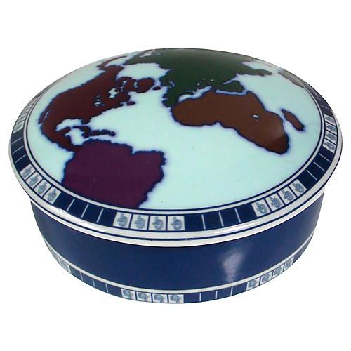 Tiffany & Co. Limoges World Box