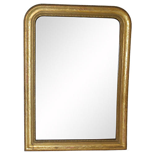 19th-C. French Louis Philippe Mirror
