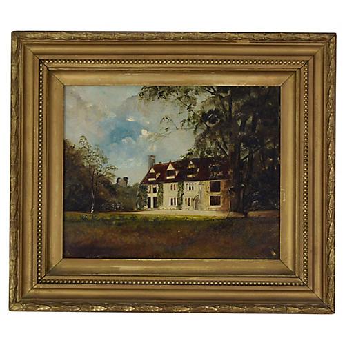 Antique English Manor