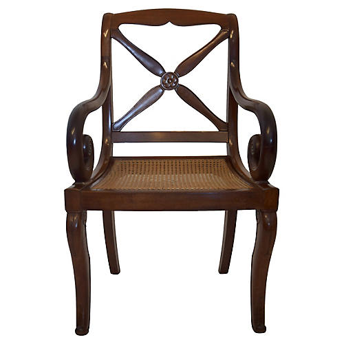 French Armchair, C. 1900