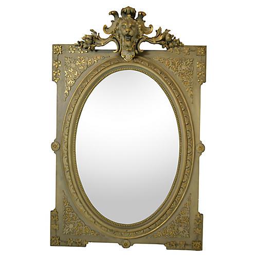 19th-C French Napoleon III Mirror
