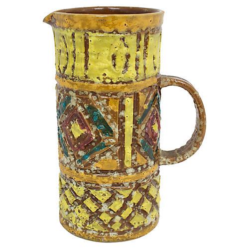 Mid-Century Italian Pottery Vase