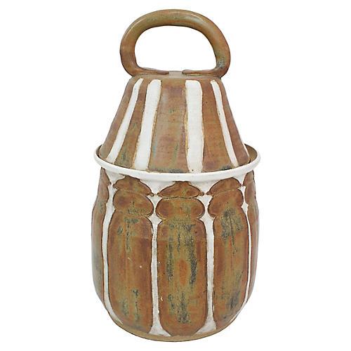Midcentury Art Pottery Jar