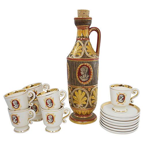 S/15 Deruta Pottery Drinkware