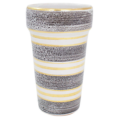 Italian Lava Pottery Vase
