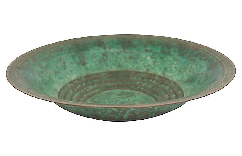 1920's Carl Sorenson Bronze Bowl