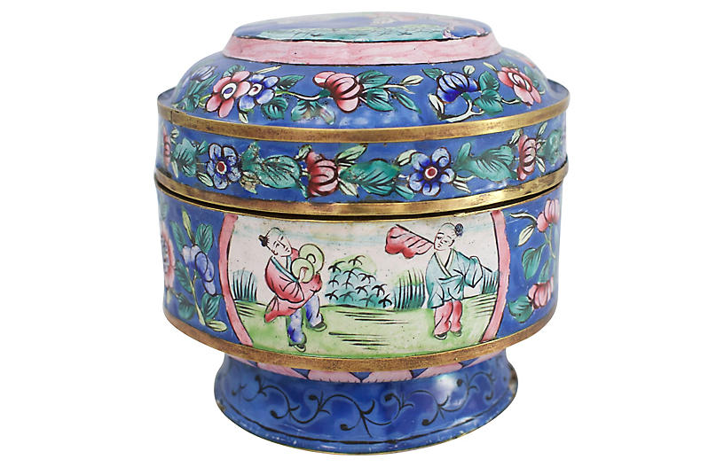 19th C. Chinese Enameled Box