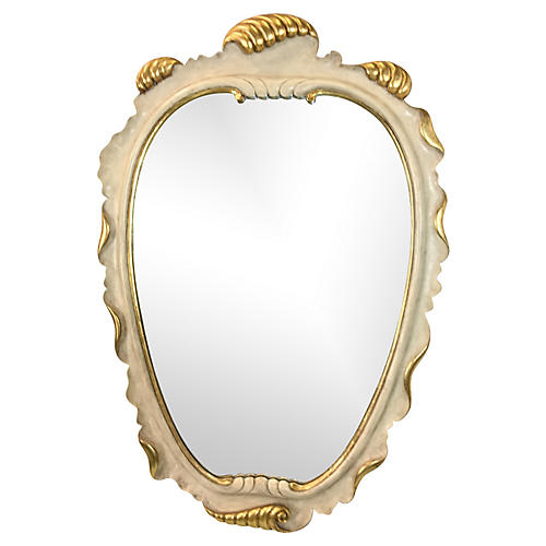 Scalloped Mirror att. to Dorothy Draper