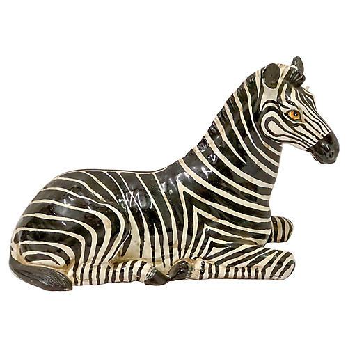 Hollywood Regency Italian Zebra