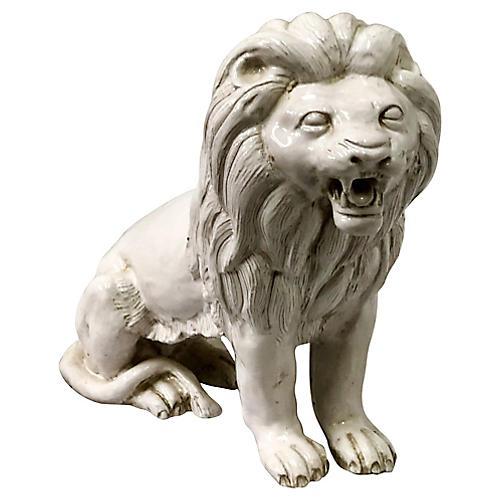 Italian Terracotta Lion
