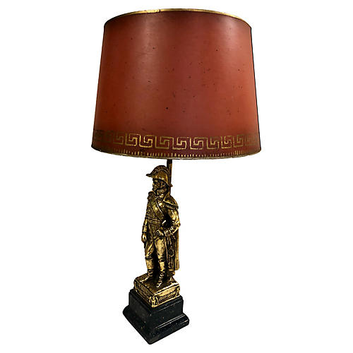 Borghese Napoleonic Table Lamp