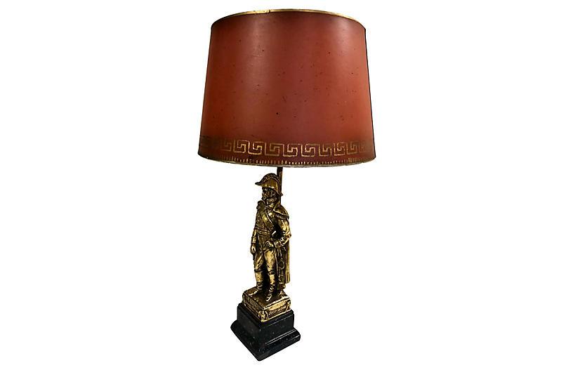 Borghese Napoleonic Table Lamp