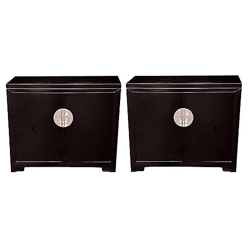Michael Taylor for Baker Cabinets,Pair